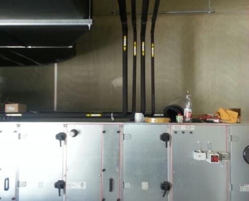 Klimatechnik Klimaaussengeräte Entlüftungsgerät Wassermodul Heizkörper Hofheim Unterfranekn KAT Systems
